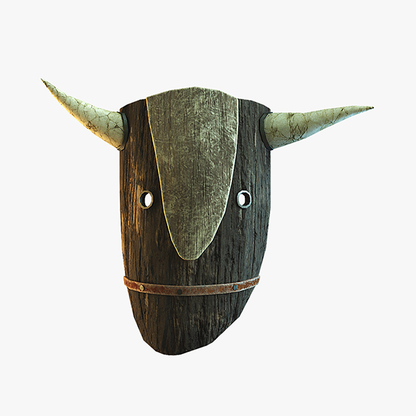 Bull mask - 3DOcean Item for Sale
