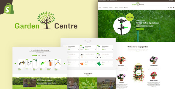 Garden Centre | Gardening, Nursery Equipments Shopify Theme