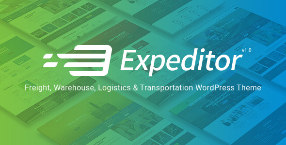 Expeditor – Logistics & Transportation WordPress Theme