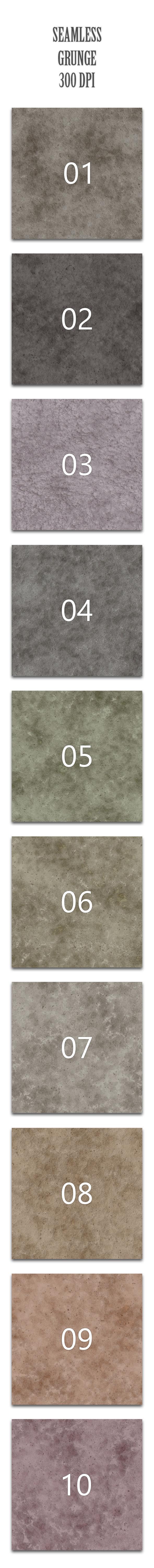 Seamless Grunge - Textures / Fills / Patterns Photoshop