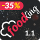 Food King - Restaurant, Food & Cafe HTML Template Nulled