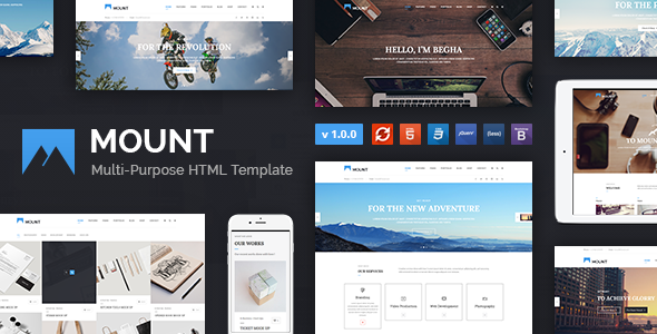 Mount – Multi-purpose Business HTML Template - Business Corporate