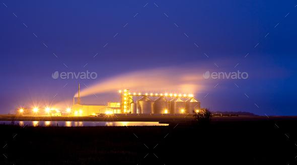 ethanol plant - Stock Photo - Images