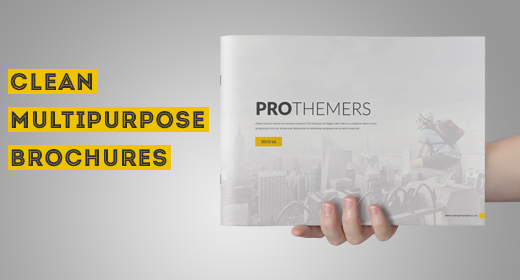 Clean Multipurpose Brochures