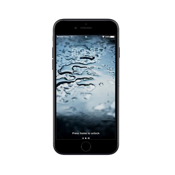 iPhone 7 Black - 3DOcean Item for Sale