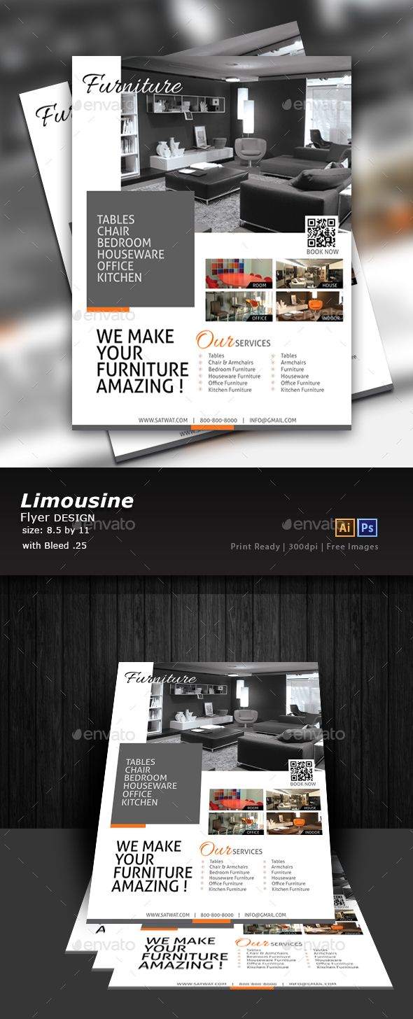 Furniture Store Flyer - Flyers Print Templates