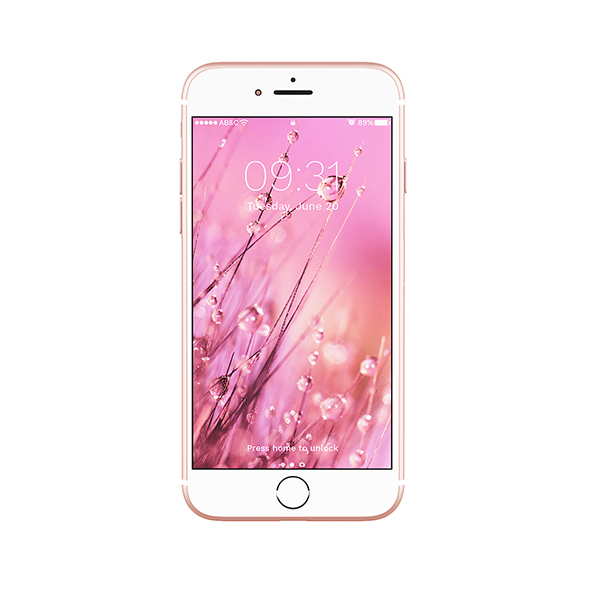 iPhone 7 Pink - 3DOcean Item for Sale