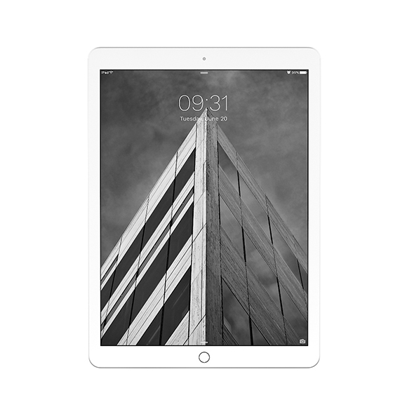 iPad Pro 12.9 Silver - 3DOcean Item for Sale