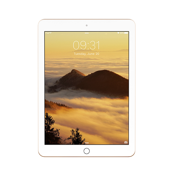 iPad Pro 9.7 Gold - 3DOcean Item for Sale