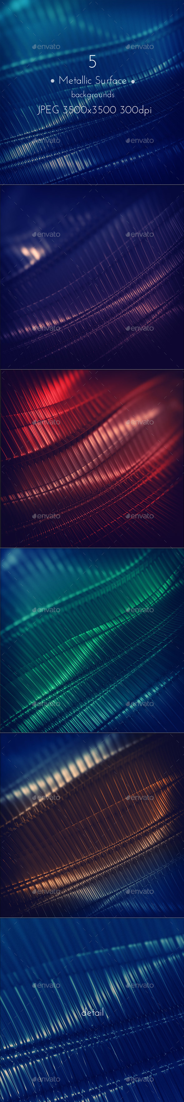 Metallic Techno Surface Background - Tech / Futuristic Backgrounds