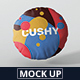 Pillow Mockup - Round - GraphicRiver Item for Sale
