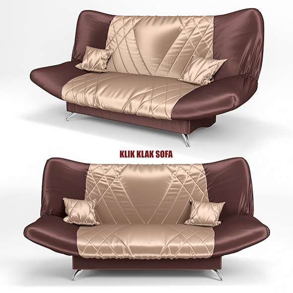sofa KLIK KLAK 2 - 3DOcean Item for Sale