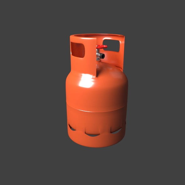Propane Gas Tank - 3DOcean Item for Sale