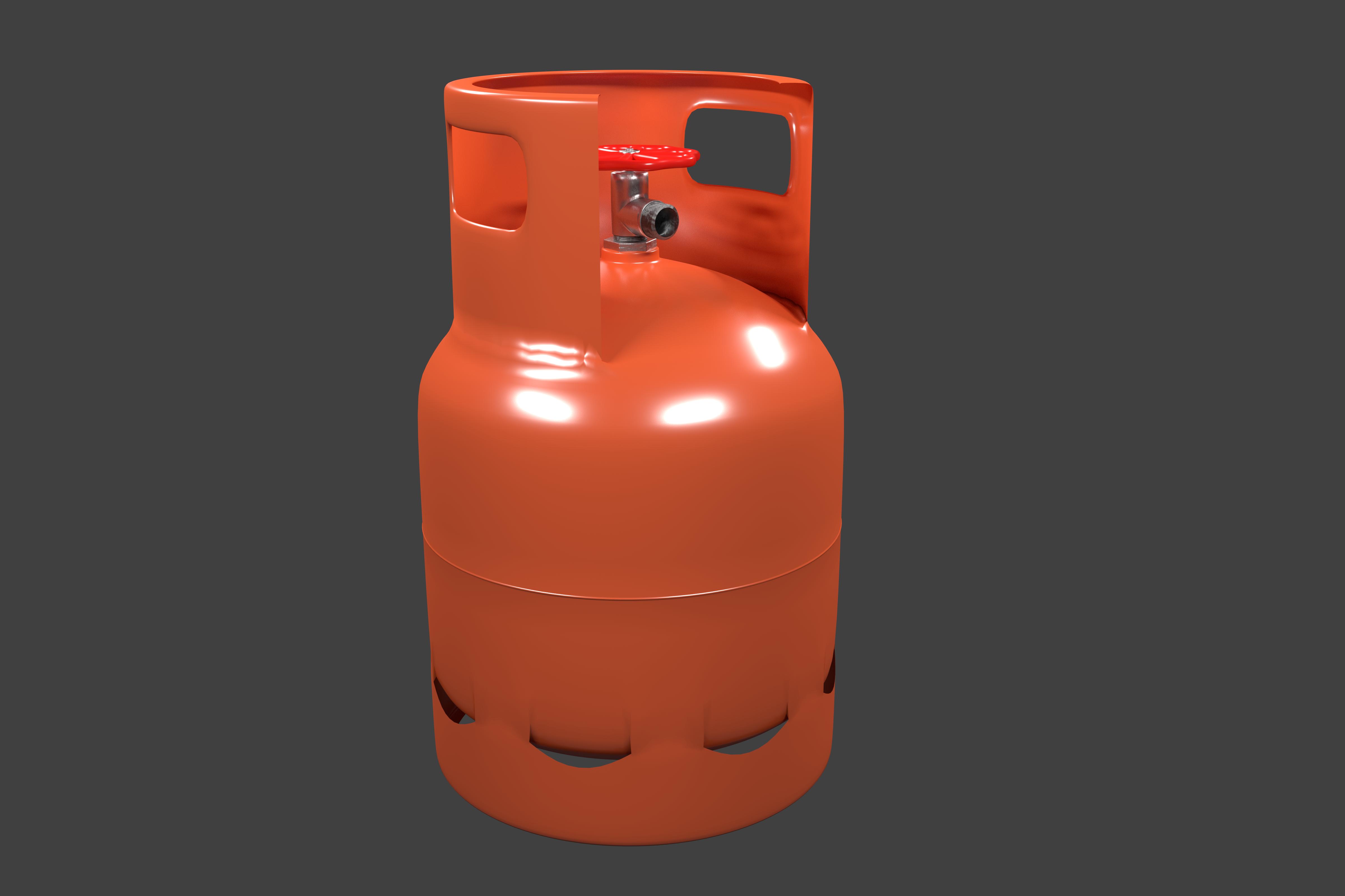 propane gas tank by paceyu 3docean. Black Bedroom Furniture Sets. Home Design Ideas