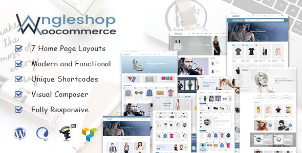 Angel Shop – WooCommerce WordPress Theme