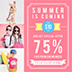 Promogram Vol.04 - Summer Instagram Promotion Template