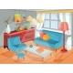 Vector Illustration of a Cozy Cartoon Interior - GraphicRiver Item for Sale