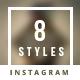 Promogram Vol.10 - New Arrivals Instagram Promotion Template - GraphicRiver Item for Sale