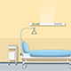 Illustration of a Sickroom - GraphicRiver Item for Sale