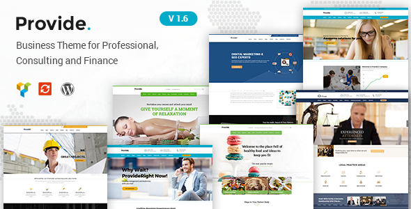 Provide | Responsive Multipurpose WordPress Theme - Corporate WordPress