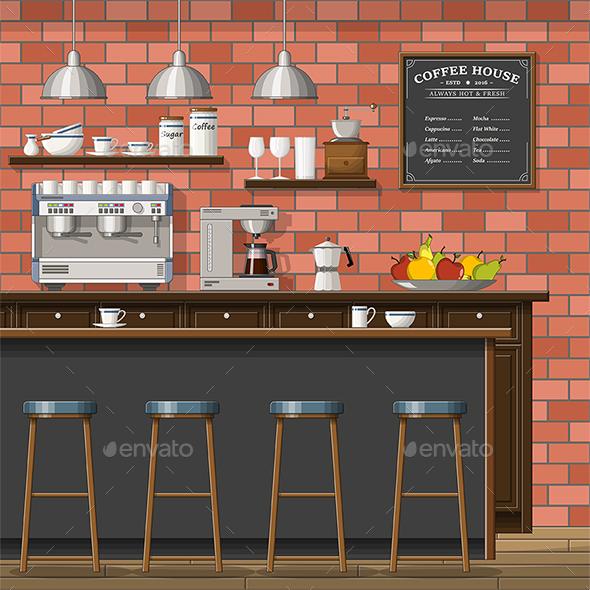 Classic Coffee Shop - Miscellaneous Conceptual