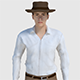 Cowboy Character - Game Ready - 3DOcean Item for Sale