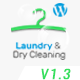 Laundry, Dry Cleaning Services WordPress Theme Nulled