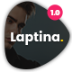 Laptina - Multi-Purpose Business & Financial Professional, Consulting  PSD Template Nulled
