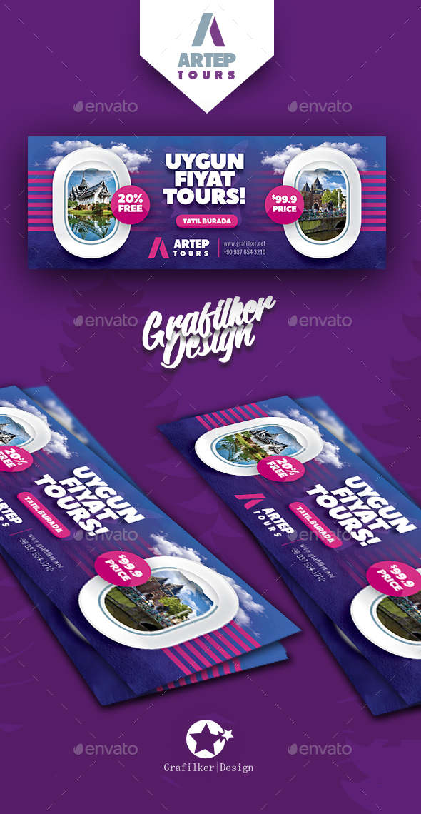 Travel Tour Cover Templates - Facebook Timeline Covers Social Media