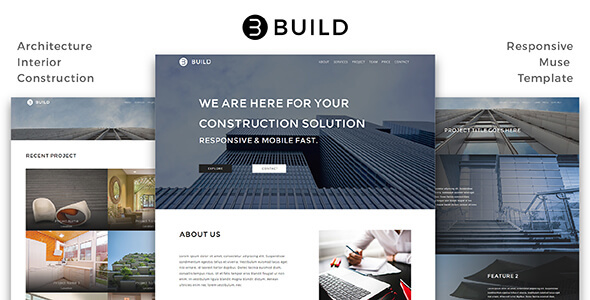 Create_Architecture / Interior / Building Muse Template (Corporate)