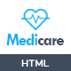 MediCare - Responsive Medical Health Template - ThemeForest Item for Sale