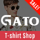 Gato - Tshirt Shop Responsive Prestashop 1.7 Theme Nulled