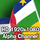 Flag Transition - Central African Republic - VideoHive Item for Sale
