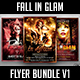Fall in Glam Flyer Bundle V1 - GraphicRiver Item for Sale