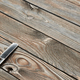 Vintage barber shop straight razor tool on wooden background - PhotoDune Item for Sale