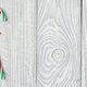 Christmas cane decoration on wooden background - PhotoDune Item for Sale