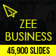 Zee Business Keynote Template - GraphicRiver Item for Sale