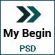My Begin - Personal Portfolio Template - ThemeForest Item for Sale