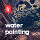 Water Marbling Painting Backgrounds - GraphicRiver Item for Sale