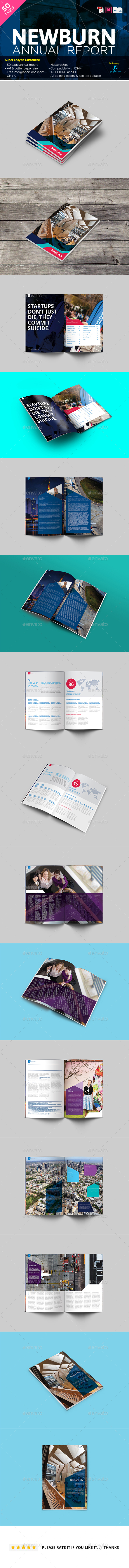 Newburn Modern Annual Report - Corporate Brochures