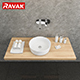 washbasin Ravak Moon 1