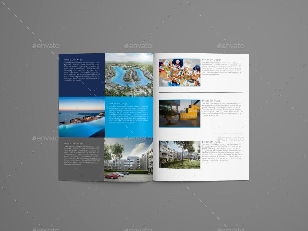 331d5dcdccea2d Naomi Clean Modern Corporate Brochure Template by evolysdigital ...