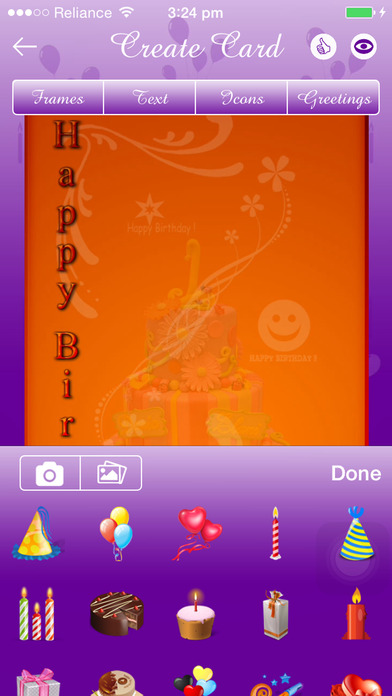 IOS Birthday Card Maker App Objective C Xcode