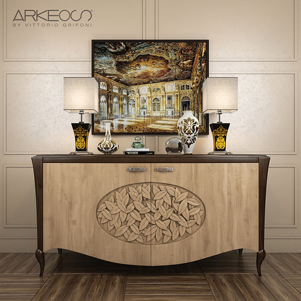 sideboard Arkeos KRONOS K100 Noce grano - 3DOcean Item for Sale