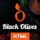 Blackolive - Restaurant One Page HTML - ThemeForest Item for Sale