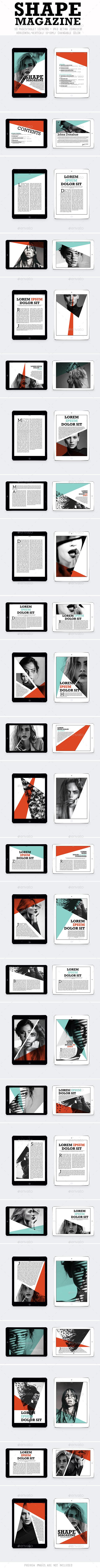 Ipad&Tablet Simple Shape Magazine - Digital Magazines ePublishing