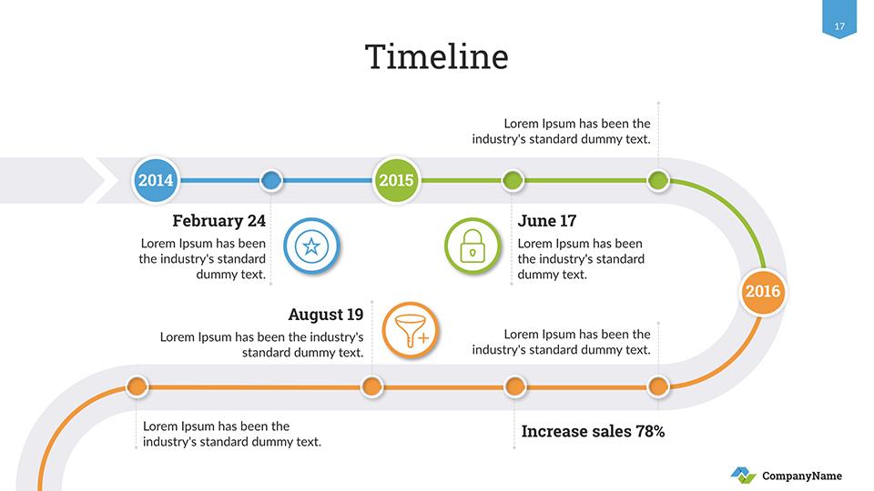 Timeline Keynote Presentation Template By SanaNik GraphicRiver - Timeline template keynote