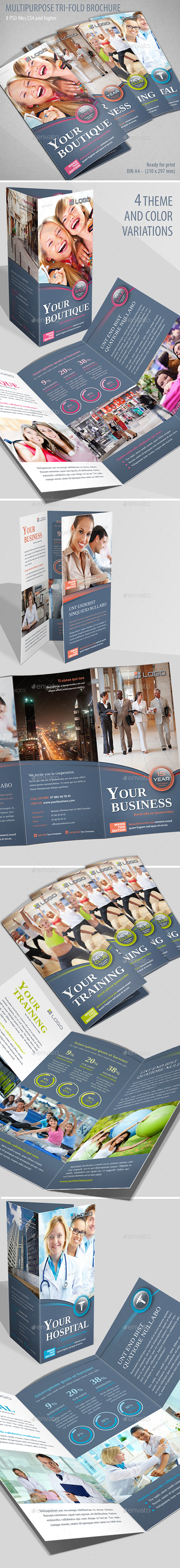 Tri-Fold Multipurpose - Corporate Brochures