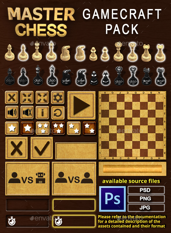 Master Chess - Game Assets - Game Kits Game Assets