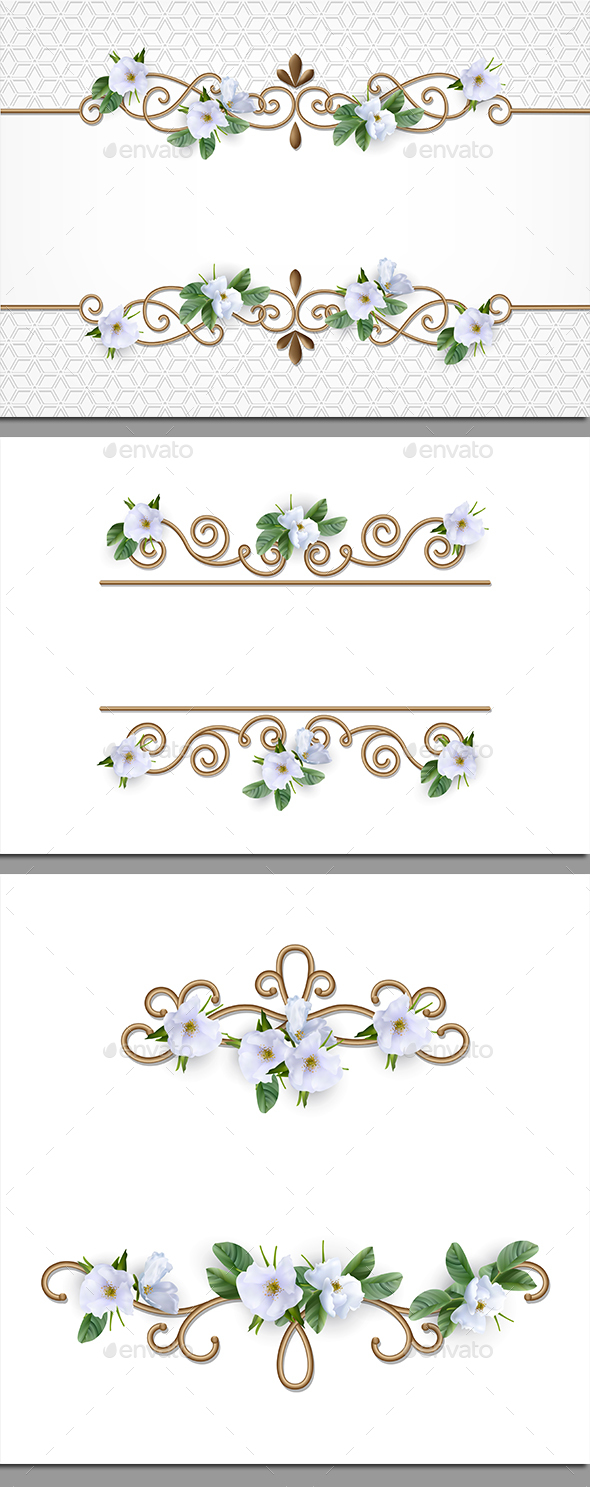 Border Set - Borders Decorative